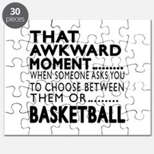 Basketball Awkward Moment Designs Puzzle