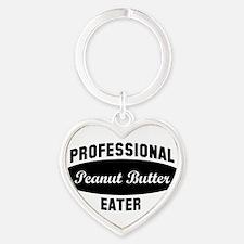 Cute Peanut butter Heart Keychain
