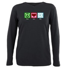 Funny Over the hill Plus Size Long Sleeve Tee