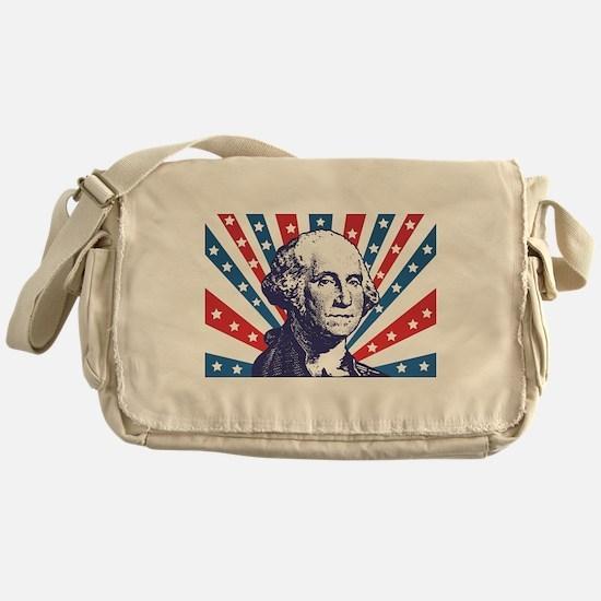 george washington Messenger Bag