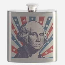 george washington Flask