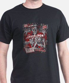 Horror Movie Monsters Spook Show T-Shirt