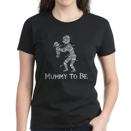 Halloween Mummy Women's Dark T-Shirt