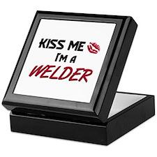Kiss Me I'm a WELDER Keepsake Box