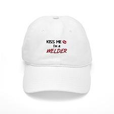 Kiss Me I'm a WELDER Baseball Cap