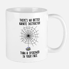 Best Karate Instructor is a Spiderweb in Your Mugs