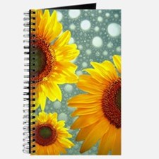 Happy Bubbly Sunflowers Journal