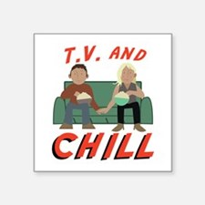 TV & Chill Sticker