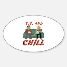 TV & Chill Decal
