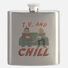 TV & Chill Flask