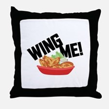 Wing Me! Throw Pillow