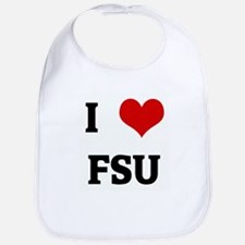 I Love FSU Bib