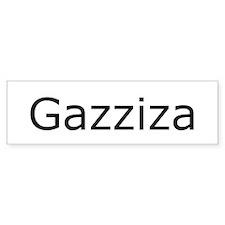 Newsradio Gazizza Bumper Bumper Sticker