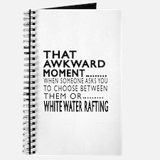 White Water Rafting Awkward Moment Designs Journal