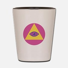 Eye In Pyramid Shot Glass