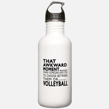 Volleyball Awkward Mom Water Bottle