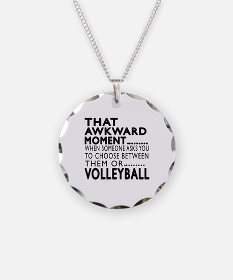 Volleyball Awkward Moment De Necklace