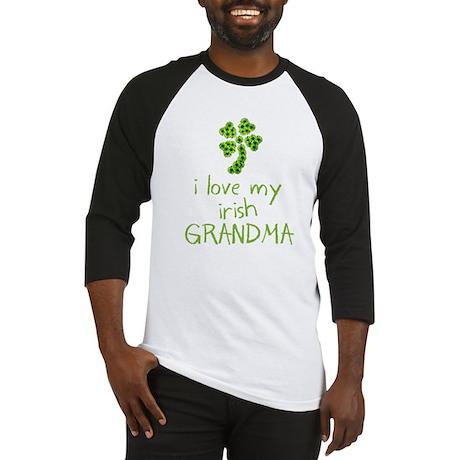 I Love my Irish Grandma Baseball Jersey