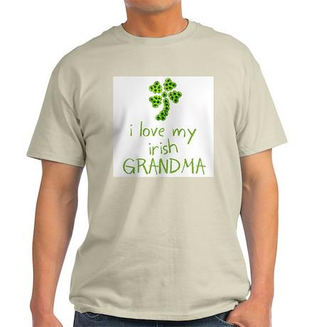 I Love my Irish Grandma Light T-Shirt