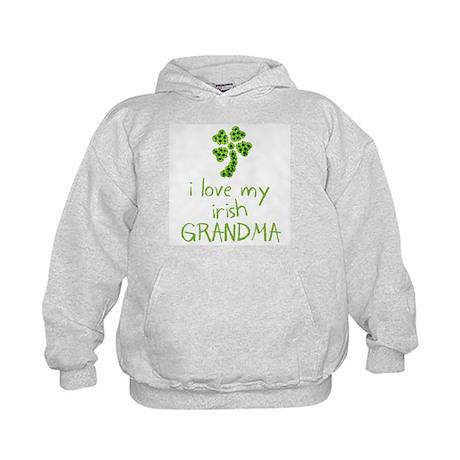 I Love my Irish Grandma Kids Hoodie