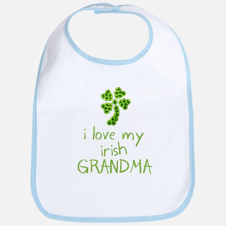 I Love my Irish Grandma Bib