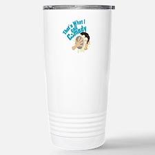 I Call Comedy Travel Mug