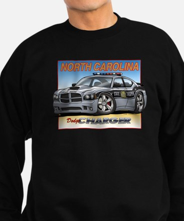 NC State Trooper Charger Sweatshirt