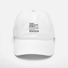 Triathlon Awkward Moment Designs Baseball Baseball Cap