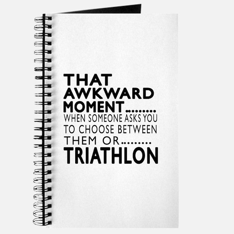 Triathlon Awkward Moment Designs Journal