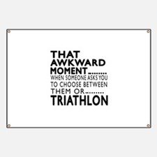 Triathlon Awkward Moment Designs Banner