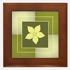 FLORAL TILE Framed Tile
