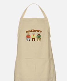 Shooting Gallery Outlaws Apron
