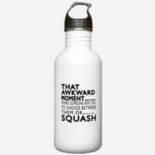 Squash Awkward Moment Water Bottle