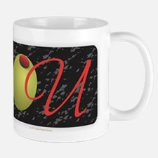 Olive U Black Mugs