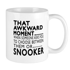 Snooker Awkward Moment Designs Small Mug