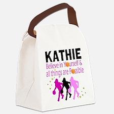 LOVE BASKETBALL Canvas Lunch Bag