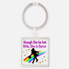 LOVE BASKETBALL Square Keychain