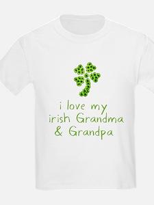 I Love my Irish Grandma & Gra T-Shirt