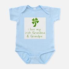I Love my Irish Grandma & Gra Infant Bodysuit