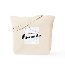 Newsradio Wisconsin Tote Bag