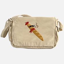 French Baguette Messenger Bag