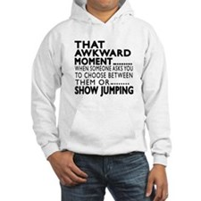 Show Jumping Awkward Moment Desi Hoodie