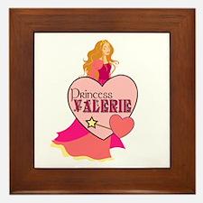 Princess Valerie Framed Tile