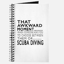 Scuba Diving Awkward Moment Designs Journal