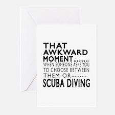 Scuba Diving Awkward Mom Greeting Cards (Pk of 10)