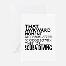 Scuba Diving Awkward Mom Greeting Cards (Pk of 20)