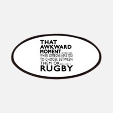 Rugby Awkward Moment Designs Patch
