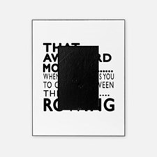 Rowing Awkward Moment Designs Picture Frame