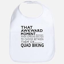 Quad Biking Awkward Moment Designs Bib