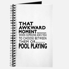 Pool Playing Awkward Moment Designs Journal
